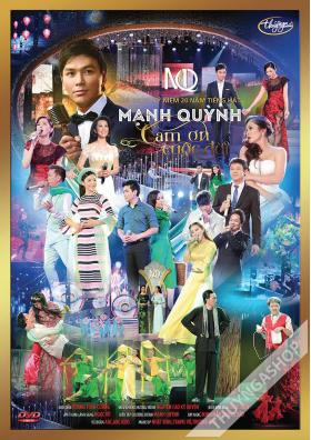 Mạnh Quỳnh Live Show – Cám Ơn Cuộc Đời 2 DVD5/ISO
